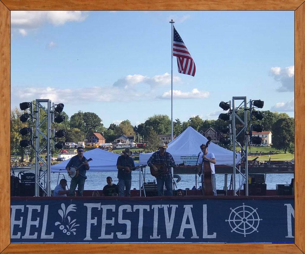 Slack Family At The Sternwheel Festival